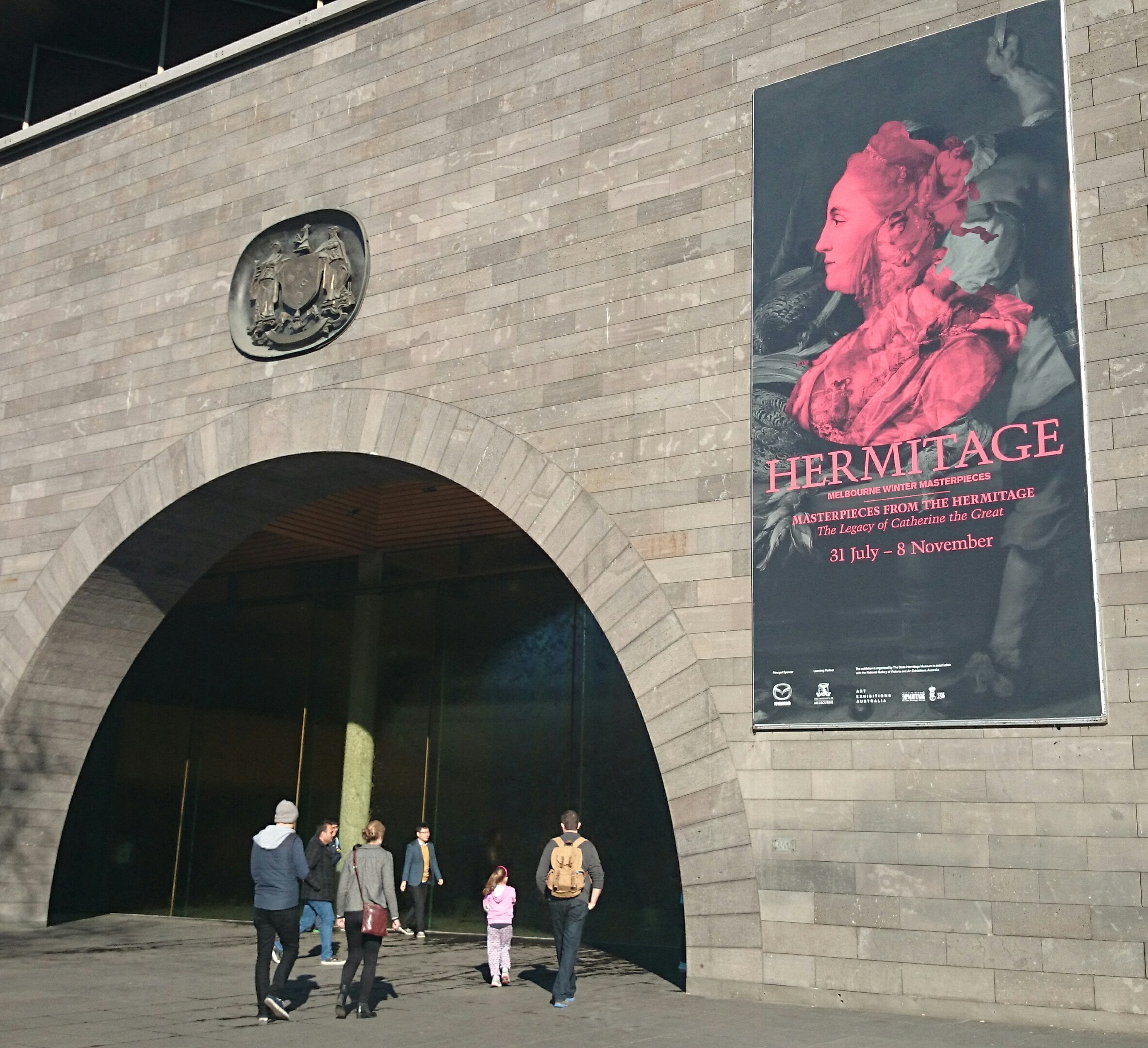 The National Gallery Victoria